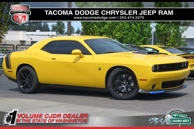 new 2017 dodge challenger 392 hemi scat pack shaker coupe in tacoma d170192 tacoma dodge. Black Bedroom Furniture Sets. Home Design Ideas