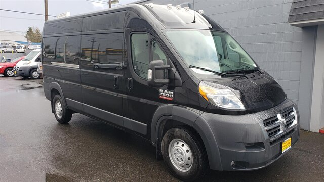 96703e3de3 New 2018 Ram ProMaster 2500 High Roof 159 WB 3D Cargo Van in Tacoma ...